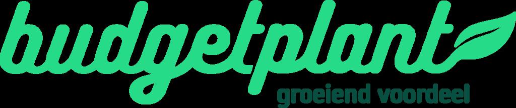 Logo tuincentrum Budgetplant