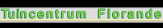 Logo tuincentrum Tuincentrum Florande