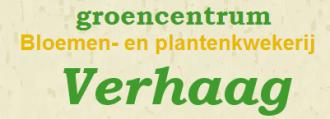 Logo tuincentrum Plantenkwekerij Verhaag