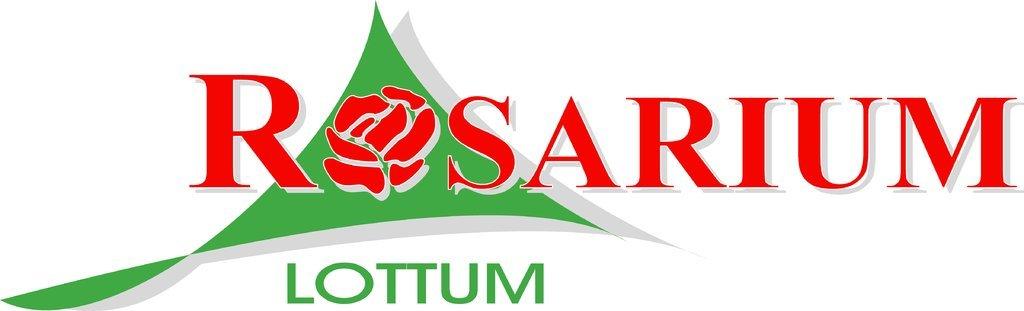 Logo tuincentrum Rosarium Lottum