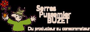 Logo tuincentrum Serres Pussemier