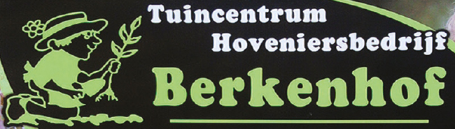 """Logo tuincentrum Tuincentrum """"Berkenhof"""""""