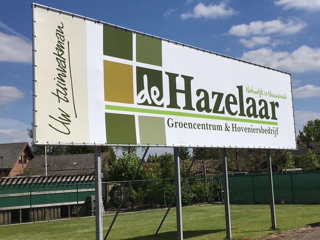 Logo tuincentrum Tuincentrum & Hoveniersbedrijf De Hazelaar